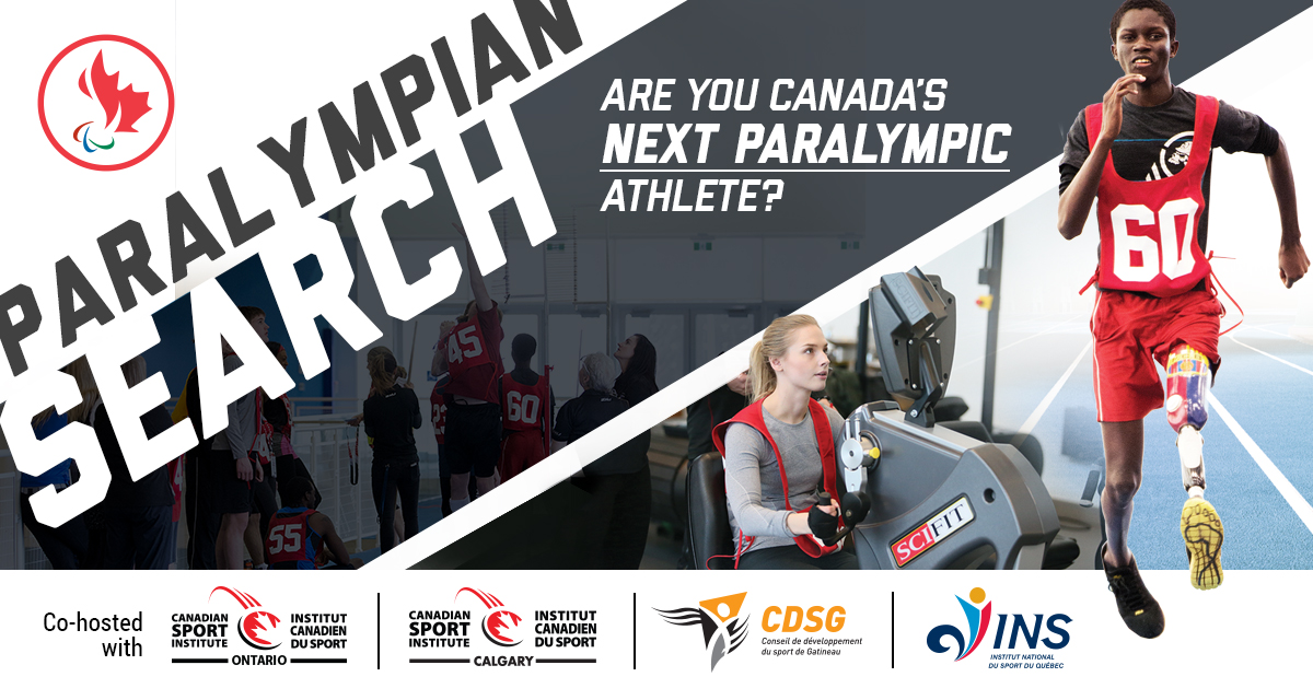 Paralympian Search website header image