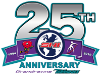 25th anniversary logo SHI Tournament