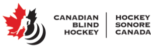 canadian blind hockey logo